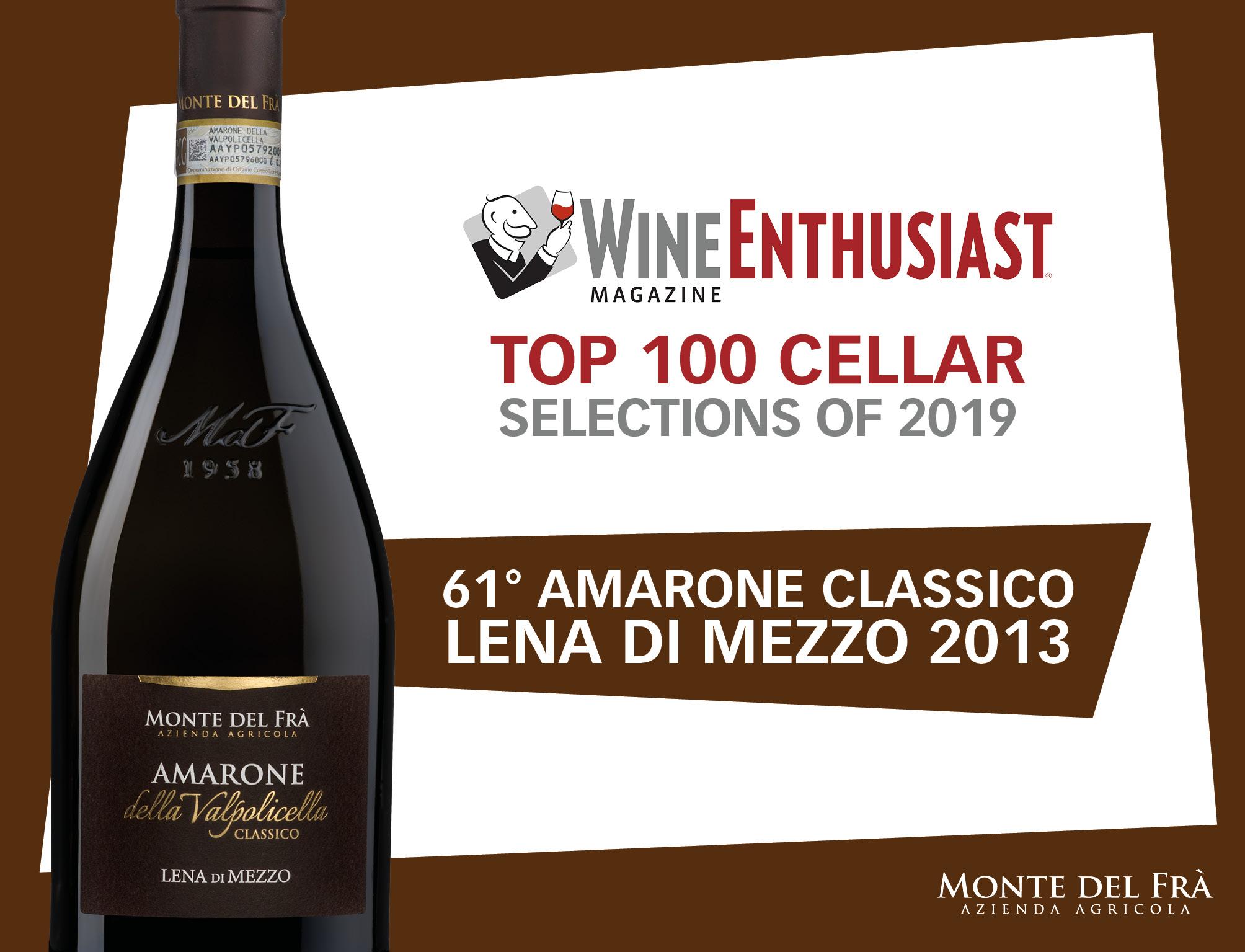 AMARONE DELLA VALPOLICELLA CLASSICO TOP 100 WORLD WINES OF 2019