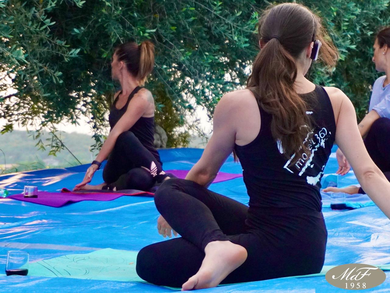 Wine Yoga nella Tenuta Lena di Mezzo a Fumane