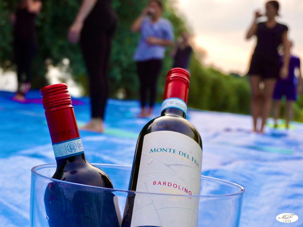 Wine Yoga in mezzo alle Vigne, toccasana per il corpo e lo spirito