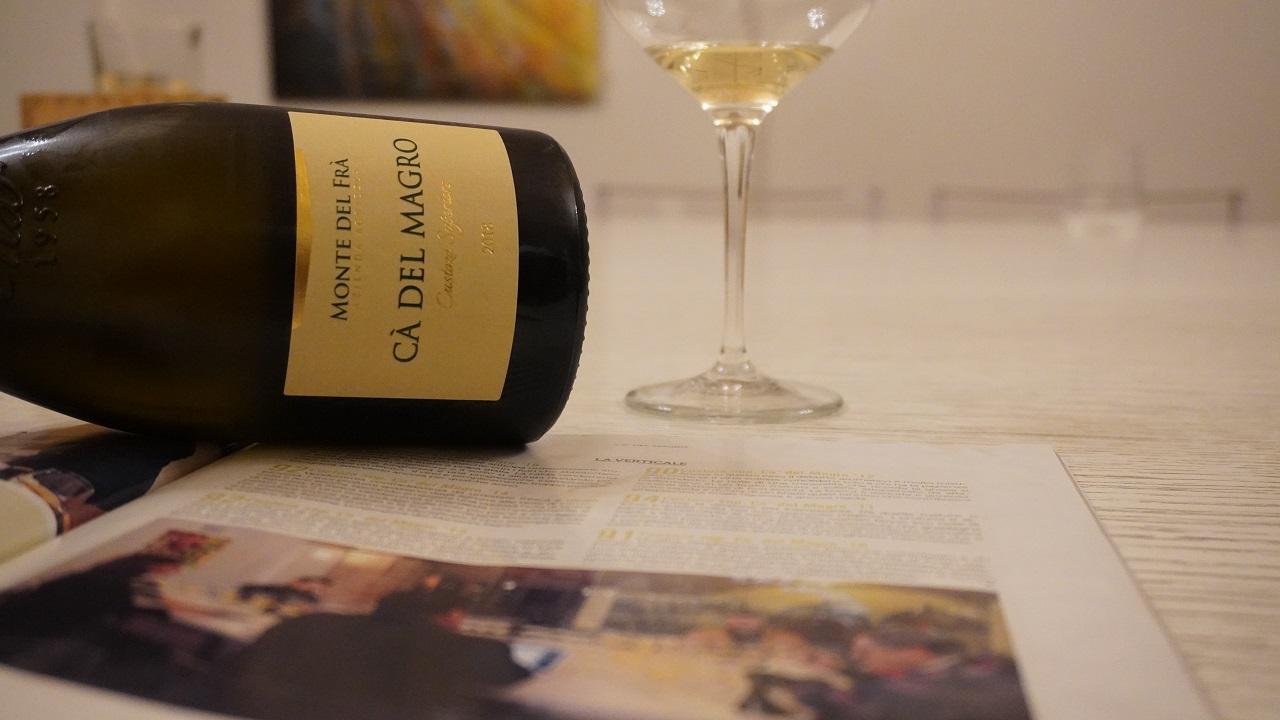 Degustazione verticale di vino Custoza Superiore Doc Cà del Magro (2011 – 2018)
