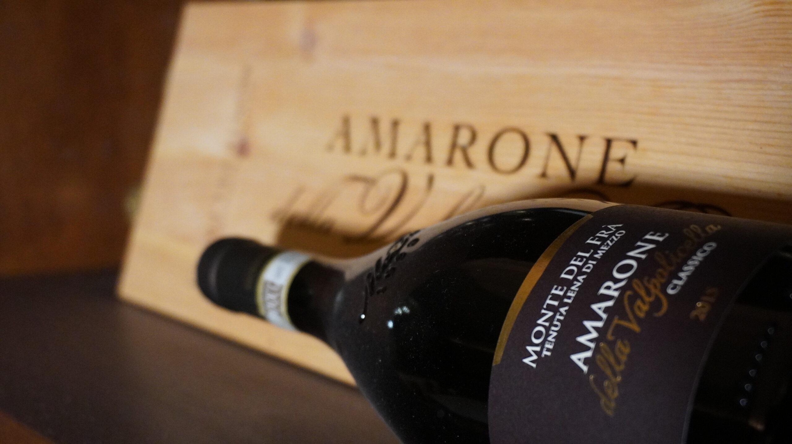 Degustazione verticale di Amarone della Valpolicella Classico Docg Tenuta Lena di Mezzo