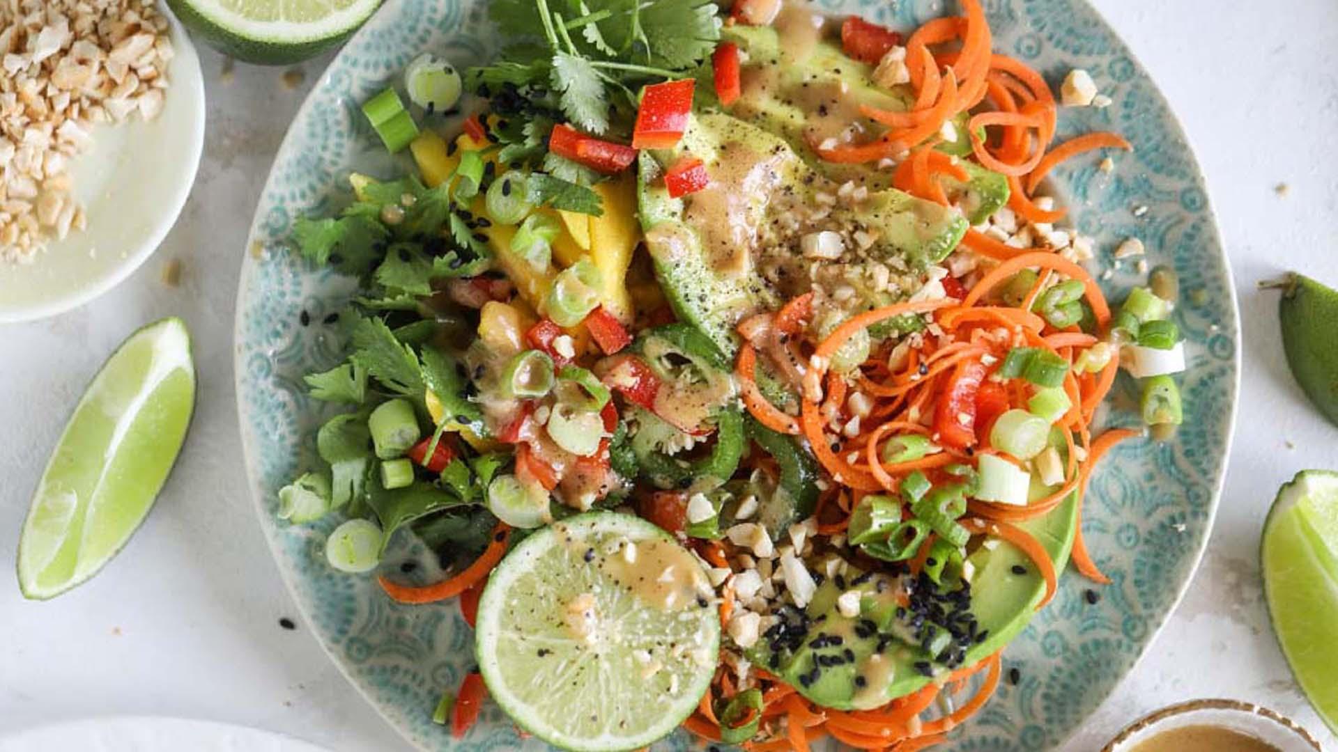Monte del Frà pairings: 'Ega garganega e insalata thailandese con avocado