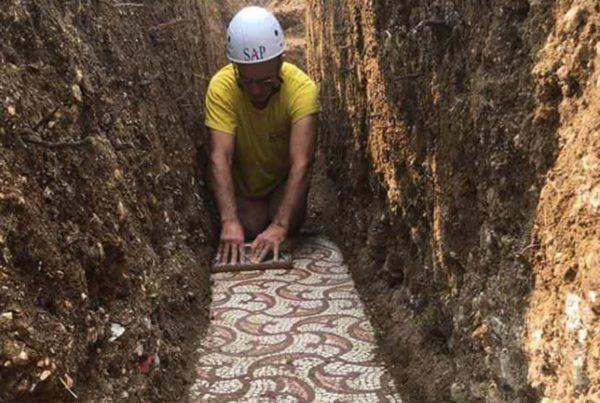 vigneti Amarone, scoperti mosaici romani