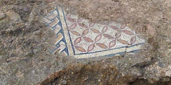 Scoperta mosaici tra i vigneti dell'Amarone