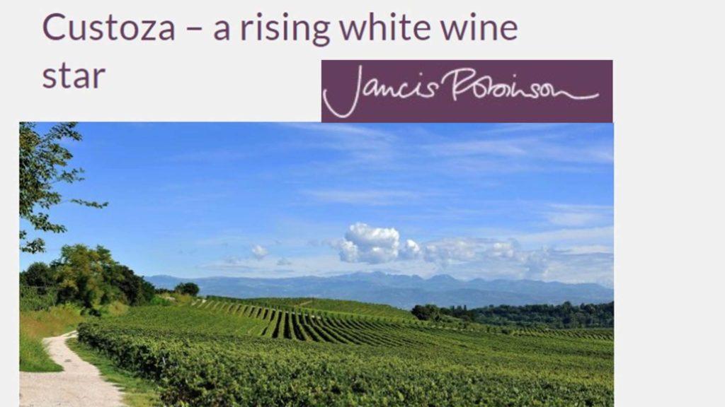 Custoza - a rising white wine star